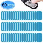 MENOLY 60Pcs (30 Packs) Muscle Stimulator Gel Pads, Abs Trainer Replacement Gel, Muscle Toner Pads, Abdominal Muscle Toner Gel Pads for Abs Toner, ABS Stimulator, Abdominal Muscle Trainer